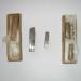 3 Nože Rozmer 10x10x50mm12x16x72mm